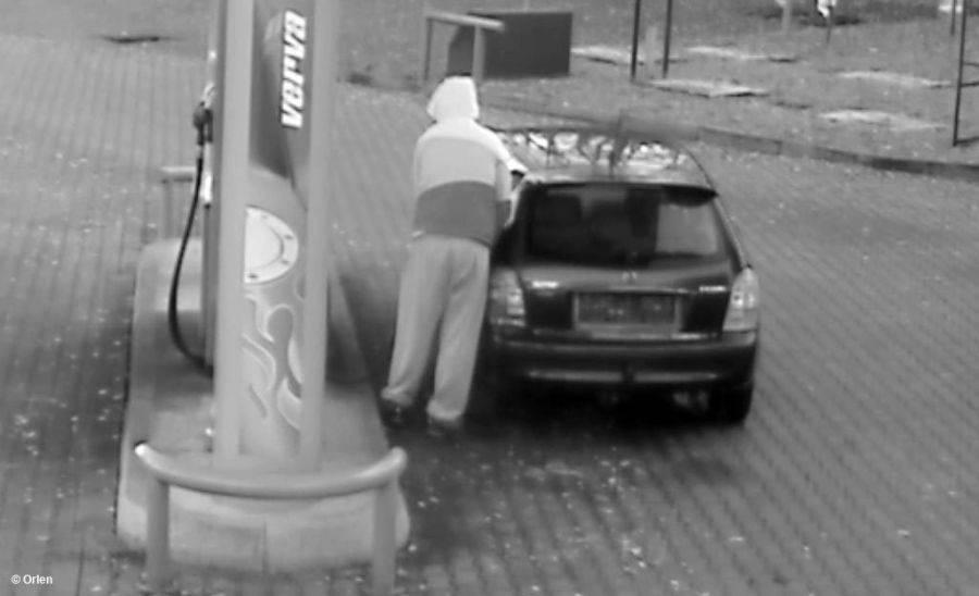 Newsy, Kradzież paliwa stacji Orlen Sprawca zatrzymany! - zdjęcie, fotografia