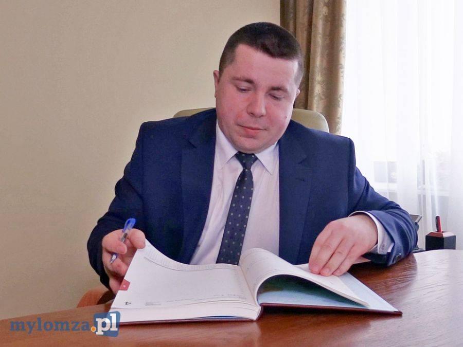 Partie polityczne, Zastępca Prezydenta Miasta Łomży członkiem - zdjęcie, fotografia