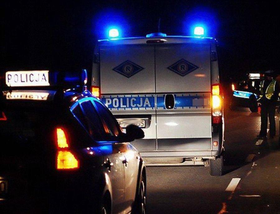 Kronika kryminalna, Złodziej próbował zepchnąć policjantów drogi - zdjęcie, fotografia
