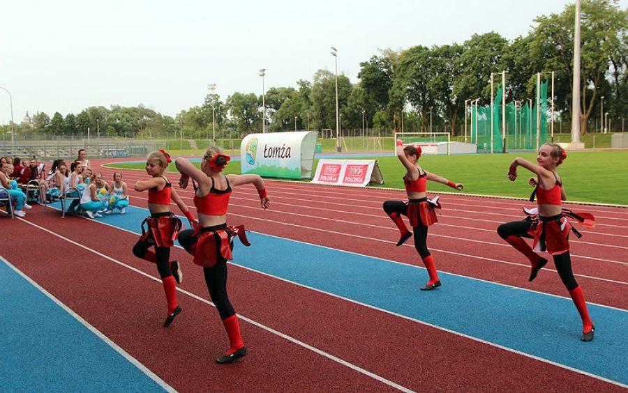 Lekkoatletyka, Rywalizują poznają Polskę - zdjęcie, fotografia