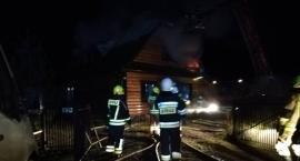 Kuzie: Pożar poddasza