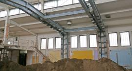 Hala Kultury w Łomży: Co dzieje się wewnątrz remontowanego zabytku? [VIDEO i FOTO]