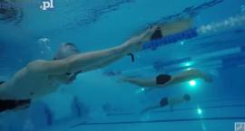 Młodzi pływacy rywalizowali w Parku Wodnym [VIDEO]