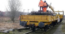 Kolej w Łomży: Ruszyły prace remontowe [FOTO]
