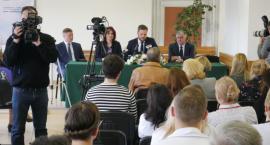 Konferencja prasowa w łomżyńskim szpitalu [LIVE i FOTO]