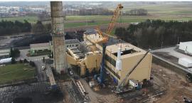 Kocioł na biomasę w MPEC: Relacja z placu budowy [VIDEO i FOTO]