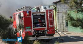 Grzymały Szczepankowskie: Ogromne straty po pożarze