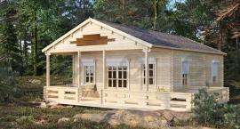 Ekologiczne drewniane domki działkowe dostępne dla każdego