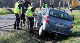 Dziecko przetransportowane śmigłowcem po wypadku na DK63 [FOTO]
