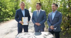 Łomża: Umowa na budowę ul. Kolejowej podpisana [VIDEO]