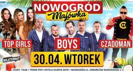Wielka Majówka 2019! Imprezy wracają do Nowogrodu!