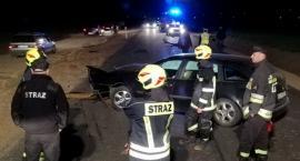 Wieczorne zderzenie na drodze do Nowogrodu. Kobieta była pijana [FOTO]