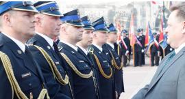 Łomża: Dzień strażaka z awansami i nowym wozem GR