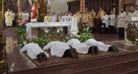 Święcenia diakonatu w łomżyńskiej katedrze [FOTO]
