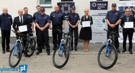 Łomża: Nowe rowery trafiły do policjantów [VIDEO i FOTO]