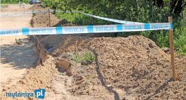 Śniadowo: Podczas remontu drogi odkryto kości