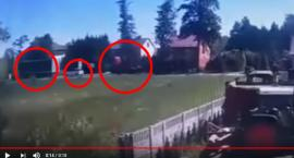 Dramatyczne nagranie z wypadku w Myszyńcu Starym! Ciężarówka miażdży osobówkę [VIDEO]