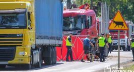 Zmarło dziecko, trzecia ofiara wypadku w Myszyńcu Starym. Kierowca ciężarówki aresztowany