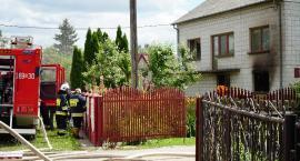Tragedia w gminie Śniadowo. Mężczyzna zginął w pożarze! [FOTO]