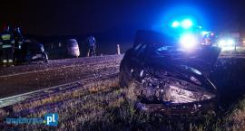 Dwie osoby w szpitalu. Sprawca wypadku zbiegł z miejsca zdarzenia! [FOTO]