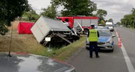 Samochód roztrzaskał się o betonowy przepust. Zginął mieszkaniec Łomży!