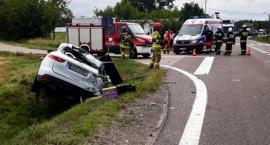 DK61: Droga do Grajewa zablokowana po wypadku. Trzy osoby w szpitalu [FOTO]
