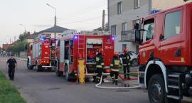 Kraska: Pożar w domu jednorodzinnym [FOTO]