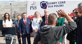 Łomża: PiS rozpoczyna kampanię wyborczą [FOTO i VIDEO]