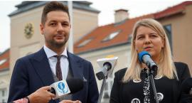 Łomża: Patryk Jaki popiera kandydatkę z naszego regionu [FOTO i VIDEO]