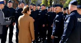 Nowi funkcjonariusze w podlaskim garnizonie policji [FOTO]