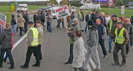 Mieszkańcy protestowali w Chojnach Młodych: