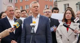 Łomża: Tomasz Siemoniak apeluje o głosowanie na kandydatów Koalicji Obywatelskiej [VIDEO i FOTO]