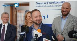 Tomasz Frankowski otwiera biuro w Łomży [VIDEO i FOTO]