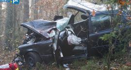 Poważny wypadek za Jednaczewem. Są poszkodowani! [FOTO]