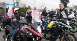 Motocykliści z Łomży i Małego Płocka świętowali Dzień Niepodległości [VIDEO i FOTO]
