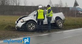 Nowy Cydzyn: Pijany kierowca wylądował w rowie [FOTO]