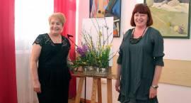 Wystawa malarstwa Doroty Karczewskiej i kompozycji kwiatowych Ewy Czerskiej [FOTO]