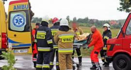 Groźny wypadek pod Wygodą [FOTO]