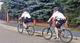Policyjne jednoślady na ulicach Łomży