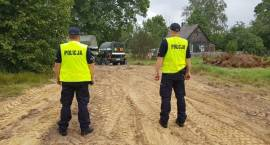 Ewakuacja ponad 20 domów w Morgownikach. Znaleziono niewybuch [VIDEO i FOTO]