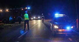 Zbójna: Volkswagen zderzył się z łosiem [FOTO]
