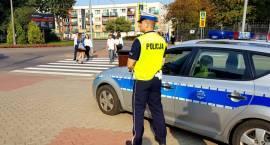 Bezpieczna droga do szkoły z łomżyńskimi policjantami [VIDEO i FOTO]