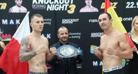 Knockout Boxing Night. Ceremonia ważenia w Galerii Veneda [VIDEO i FOTO]
