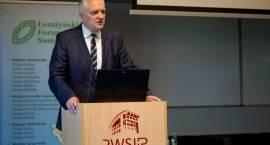 Nauka - Biznes - Administracja: Jarosław Gowin w Łomży [VIDEO i FOTO]