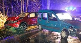 Wypadek na drodze do Jednaczewa [FOTO]