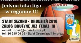 Ruszyły zapisy do Miejskiej Ligi Koszykówki
