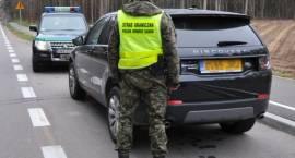 Straż Graniczna odzyskała drogie SUVy [FOTO]