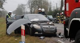 Groźny wypadek na trasie do Ostrołęki. Droga zablokowana [FOTO]