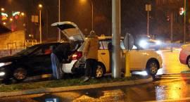 Przejechał na czerwonym i spowodował wypadek [FOTO]