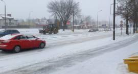 Trudne warunki na łomżyńskich drogach [NOWE VIDEO]